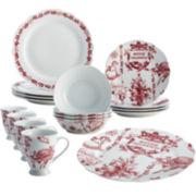 BonJour® Yuletide Garden 16-piece Dinnerware Set