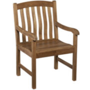 Bronson Outdoor Teak Armchair