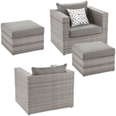 jcpenney.com | Atlantis 4-pc. Outdoor Seating Set