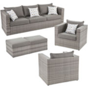 Atlantis 5-pc. Outdoor Seating Set