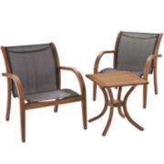 Carlotta 3-pc. Outdoor Seating Set