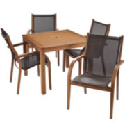 Carlotta 5-pc. Outdoor Dining Set