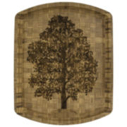Totally Bamboo® The Family Tree Reversible Carving Board
