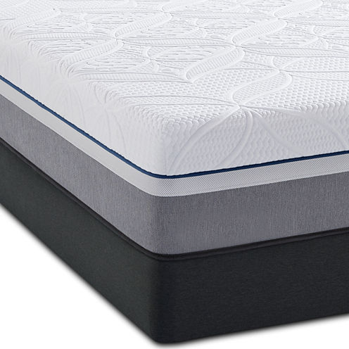 Sealy® Posturepedic® Premier Hybrid Copper Cushion Firm Mattress+Box Spring