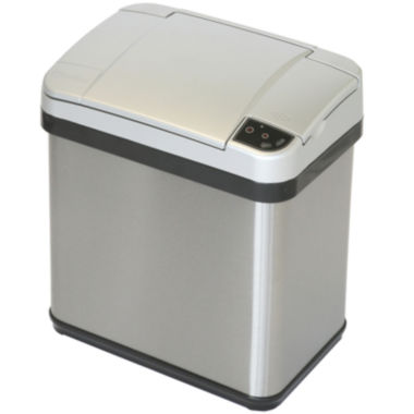 jcpenney.com | iTouchless® 2.5-Gal. Stainless Steel Multifunction Sensor Trash Can