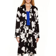 Worthington® Long-Sleeve Floral Jacket