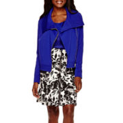 Worthington® Moto Jacket, Sheer Blouse or Zip-Front Skirt