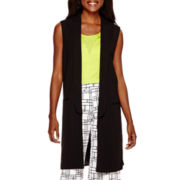 Worthington® Sleeveless Long Vest