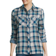 Levi's® Long-Sleeve Button-Front Relaxed Boyfriend Shirt