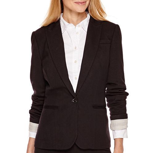Stylus™ Long-Sleeve Knit Blazer