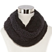 Mixit™ Cable-Knit Cowlneck Scarf