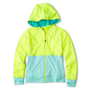 Xersion™ Colorblock Thumb-Hole Hoodie - Girls 6-16 and Plus