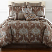 Waldorf 7-pc. Jacquard Comforter Set & Accessories