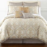 Astoria 7-pc. Jacquard Comforter Set & Accessories