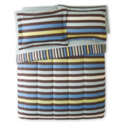 Owen Striped Complete Bedding Set with Sheets