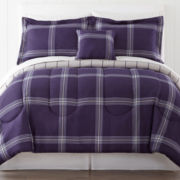 Drake 5-pc. Twin Plaid Complete Bedding Set with Sheets Collection