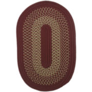 Houston Reversible Braided Indoor/Outdoor Oval Rugs