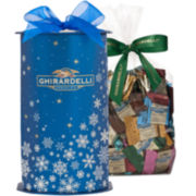 Ghirardelli 80-pc. Chocolate Cylinder Gift Box