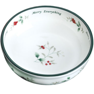 jcpenney.com | Pfaltzgraff® Winterberry Merry Everything Bowl