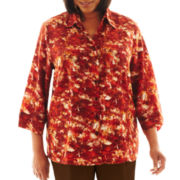 Cabin Creek® ¾-Sleeve Blouse