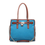 SWG Aisha Patterned Convertible Satchel