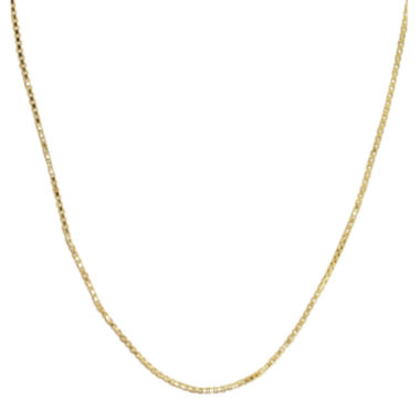 "jcpenney.com | 14K Yellow Gold 22"" Hollow Box Chain"