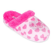 Laura Ashley Plush Slippers - Girls