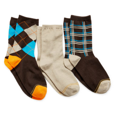 jcpenney.com | Gold Toe® 3-pk. Dress Socks - Boys
