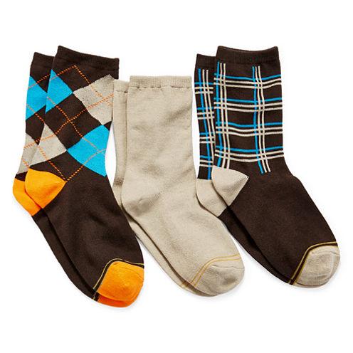 Gold Toe® 3-pk. Dress Socks - Boys