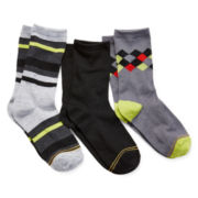 Gold Toe® 3-pk. Dress Socks - Boys