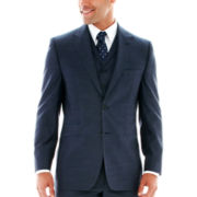 Steve Harvey® Sharkskin Suit Jacket - Big & Tall