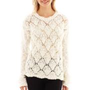 i jeans by Buffalo Long-Sleeve Slub Knit Sweater