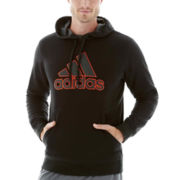 adidas® Essential Cotton Fleece Pullover Hoodie