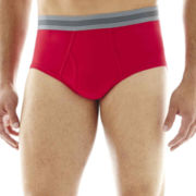 Stafford® 2-pk. Cotton Stretch Low-Rise Briefs