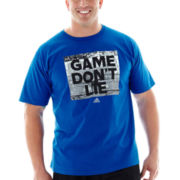 adidas® Game Don't Lie Graphic Tee–Big & Tall