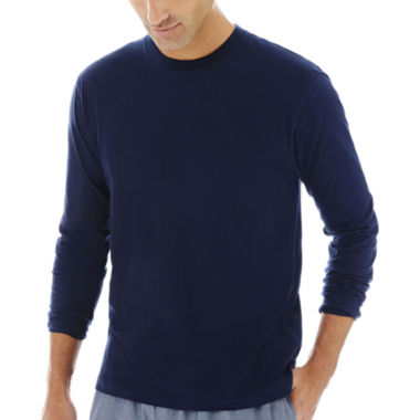 jcpenney.com | Stafford® Knit Crewneck Sleep Shirt