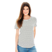 Joe Fresh™ Short-Sleeve Striped T-Shirt