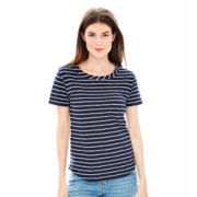 Joe Fresh™ Short-Sleeve Striped Tee