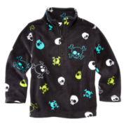 Arizona 1/4-Zip Fleece Knit Pullover – Boys 2t-6