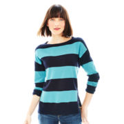 Joe Fresh™ Long-Sleeve Striped Sweater Tunic