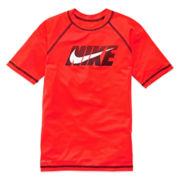 Nike® Short-Sleeve Hydro Swim Tee – Boys 6-18