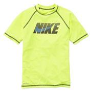 Nike® Short-Sleeve Hydro Swim Tee – Boys 8-20