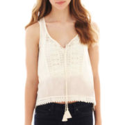 Arizona Crochet-Trim Cami