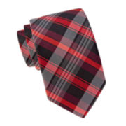JF J. Ferrar® Peter Plaid Slim Tie