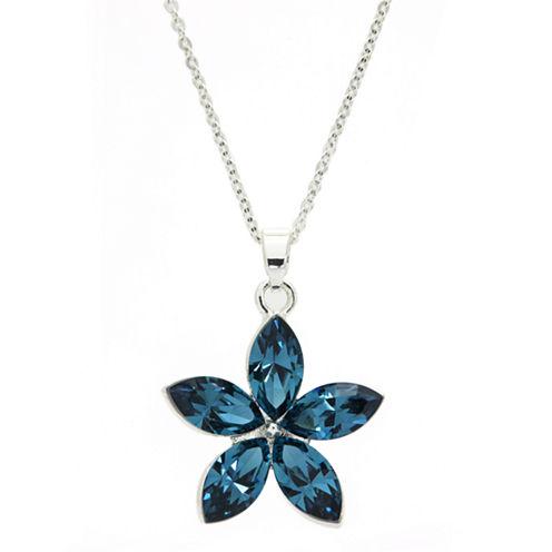 Sparkle Allure Blue Beaded Necklace