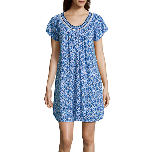 Adonna Jersey Short Sleeve Nightgown