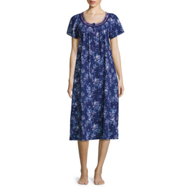 jcpenney.com | Adonna Jersey Short Sleeve Nightgown