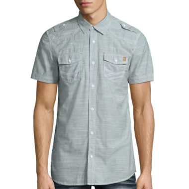 jcpenney.com | i jeans by Buffalo Button-Front Shirt