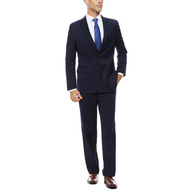 jcpenney.com | Stafford Travel Stretch Navy Suit Separate-Classic Fit