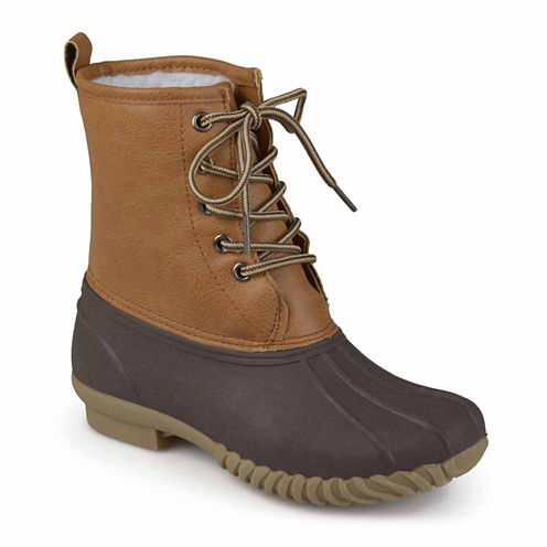 Journee Kids Lace Up Boots